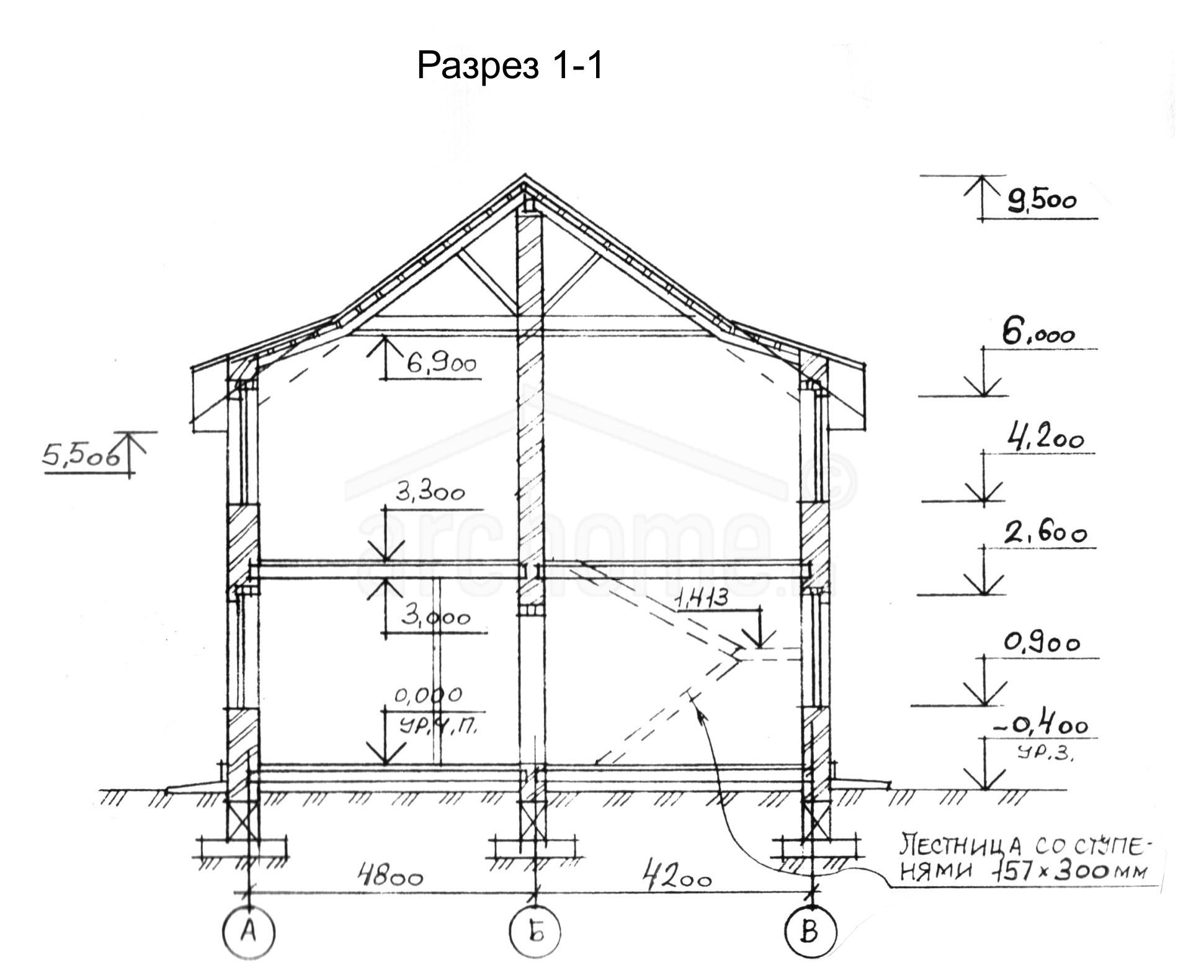 Планы этажей проекта РОСИНКА 3