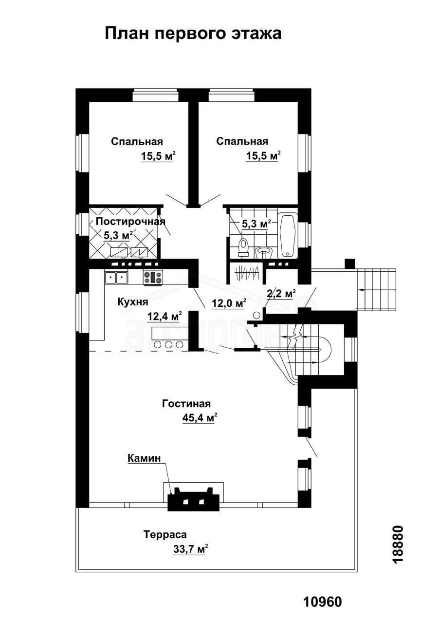Планы этажей проекта КАСПЕР-1 1