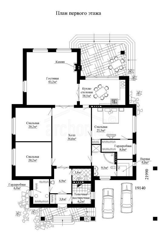 Планы этажей проекта ПИОН 1