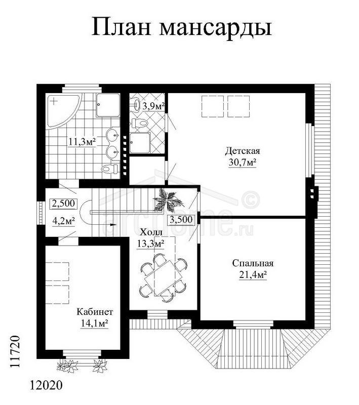 Планы этажей проекта КЕДР 2