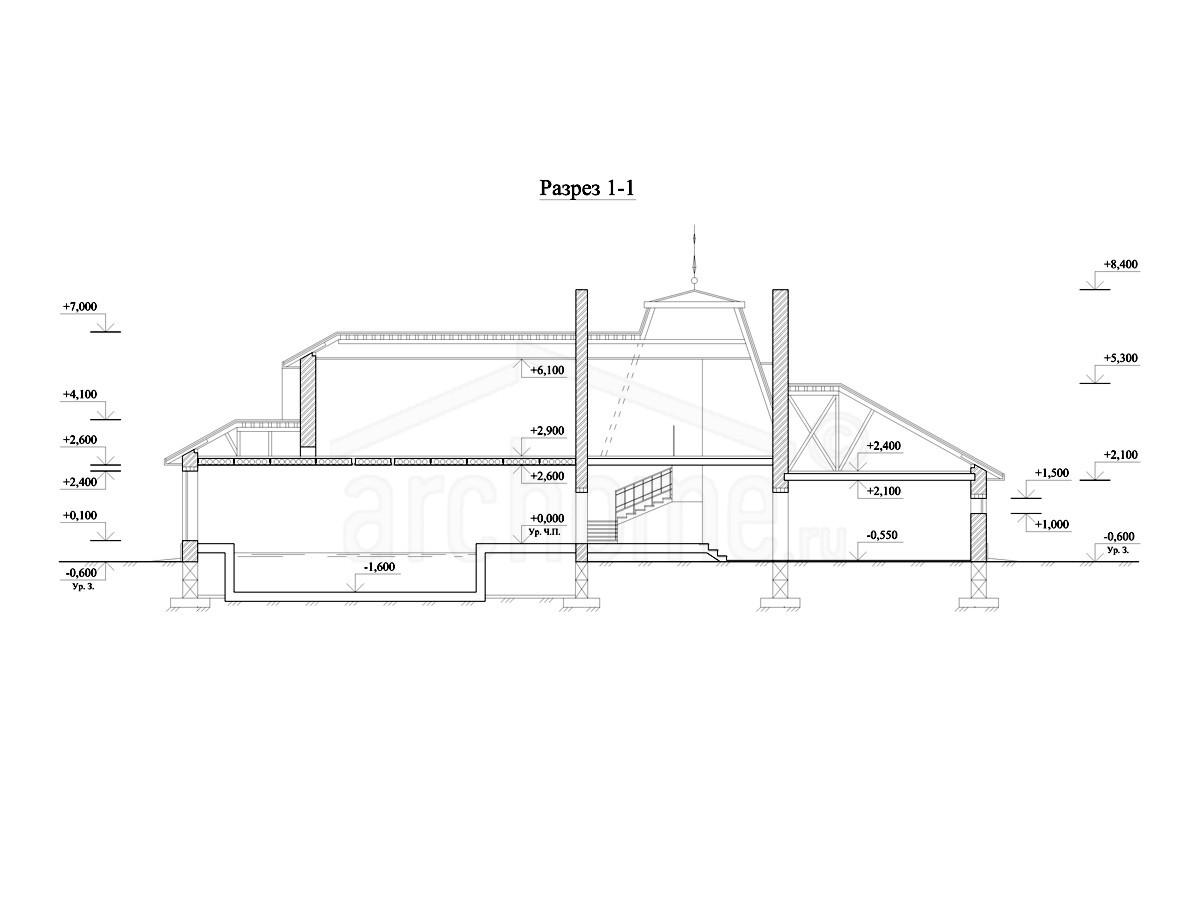 Планы этажей проекта ТЕОДОР 3