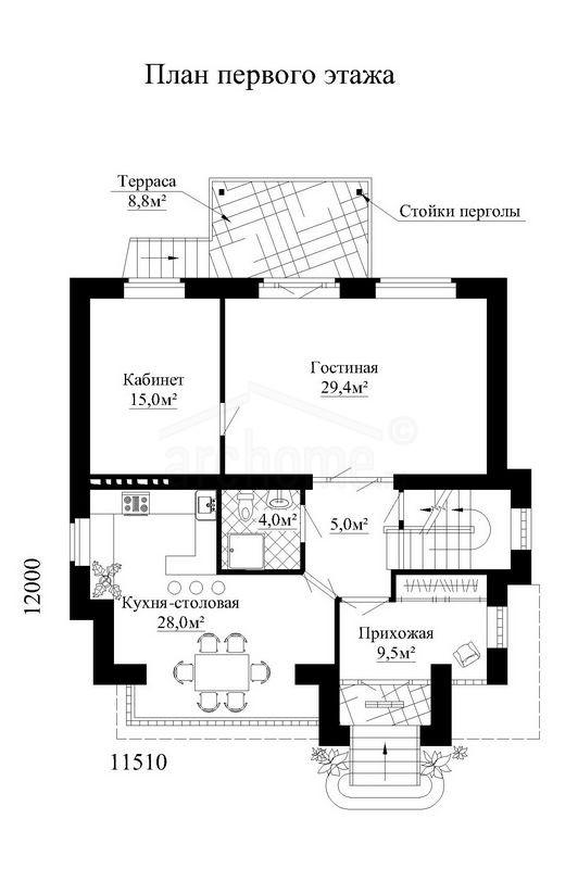 Планы этажей проекта ГУДВИН 2