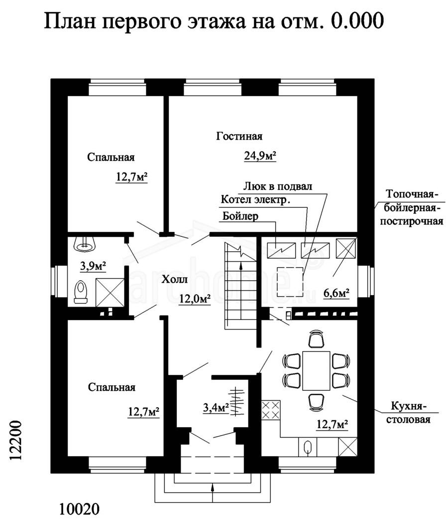 Планы этажей проекта ФИАЛКА-1 1