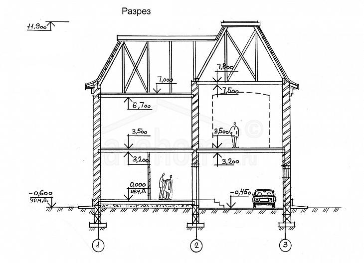 Планы этажей проекта МОНРО 3