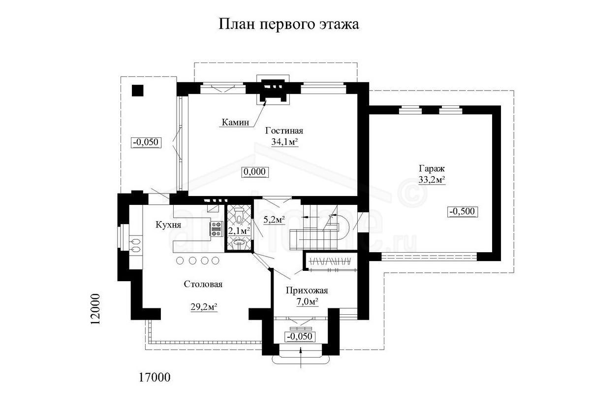 Планы этажей проекта ГУДВИН-1 1