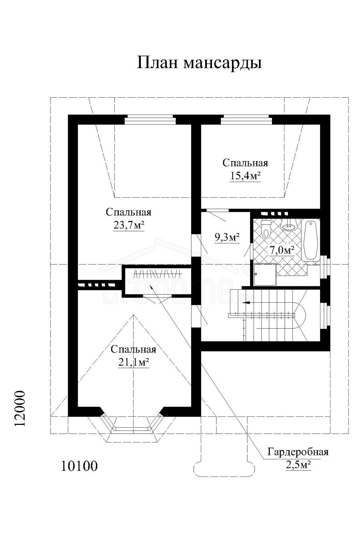 Планы этажей проекта КРОНА 3