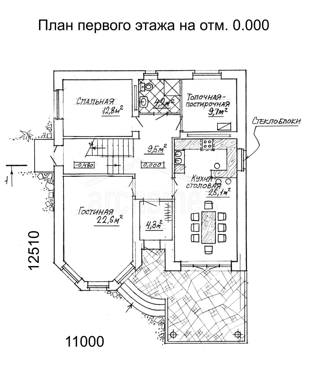 Планы этажей проекта БЕГОНИЯ 1