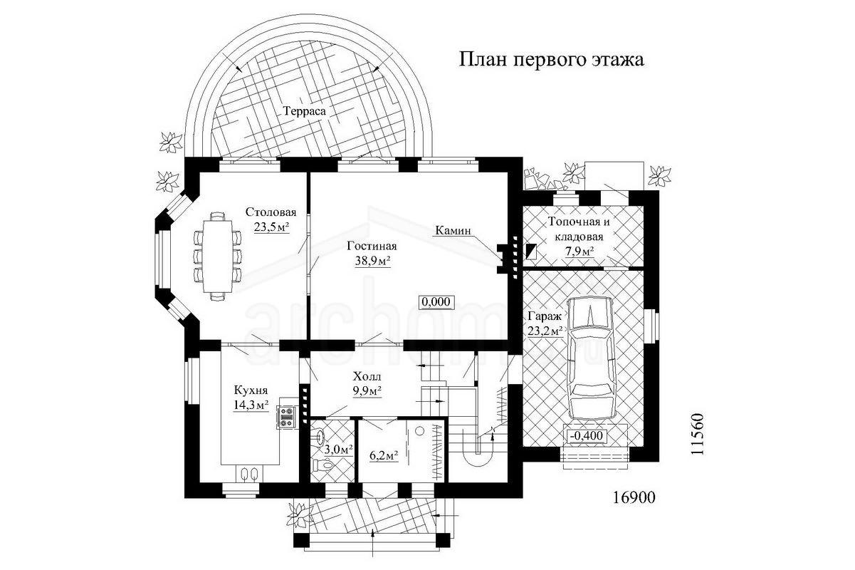 Планы этажей проекта РОМАШКА 1