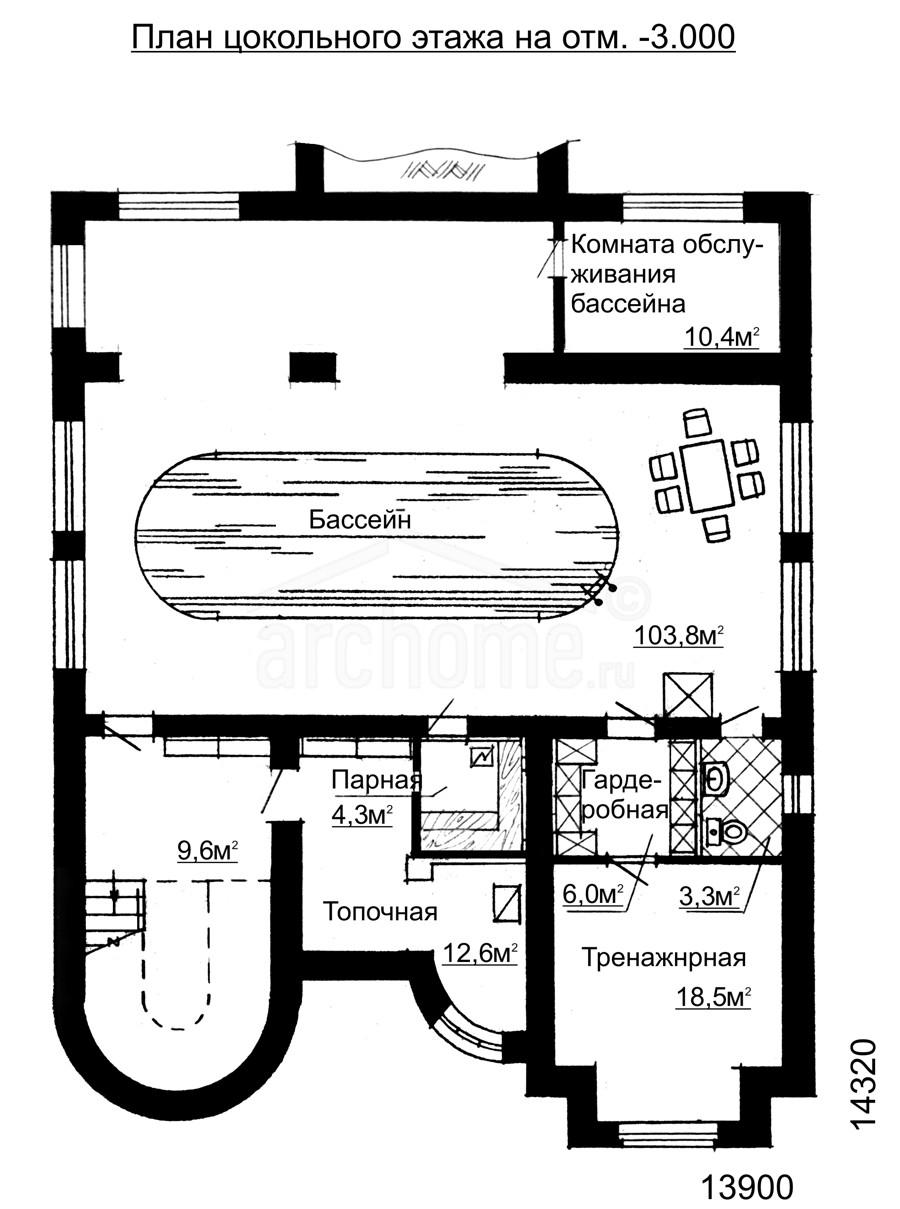 Планы этажей проекта ВИВЬЕН 3