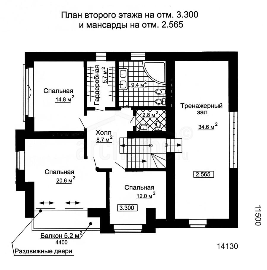 Планы этажей проекта ГУДВИН-2 2