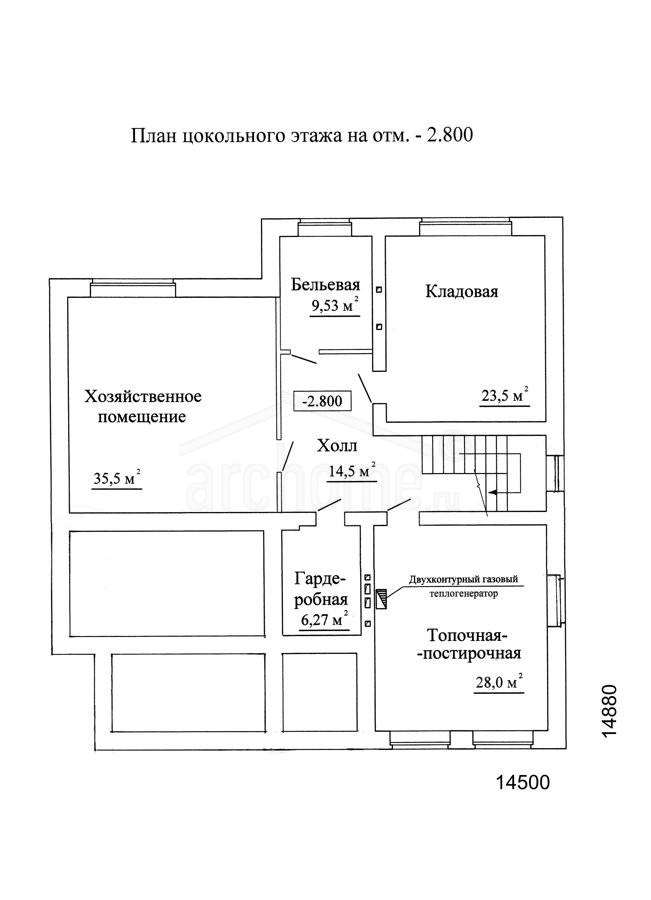 Планы этажей проекта ЛЕДА-1 1