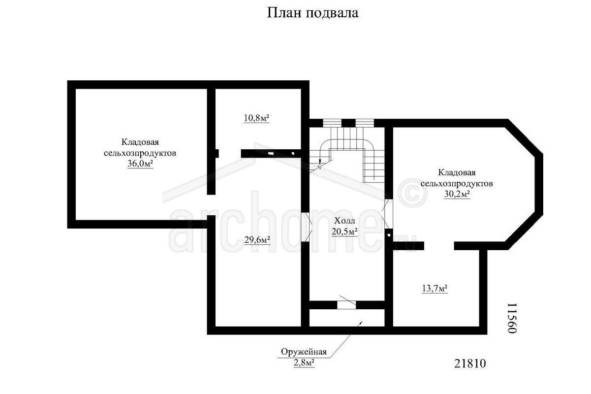 Планы этажей проекта ОНИКС 1