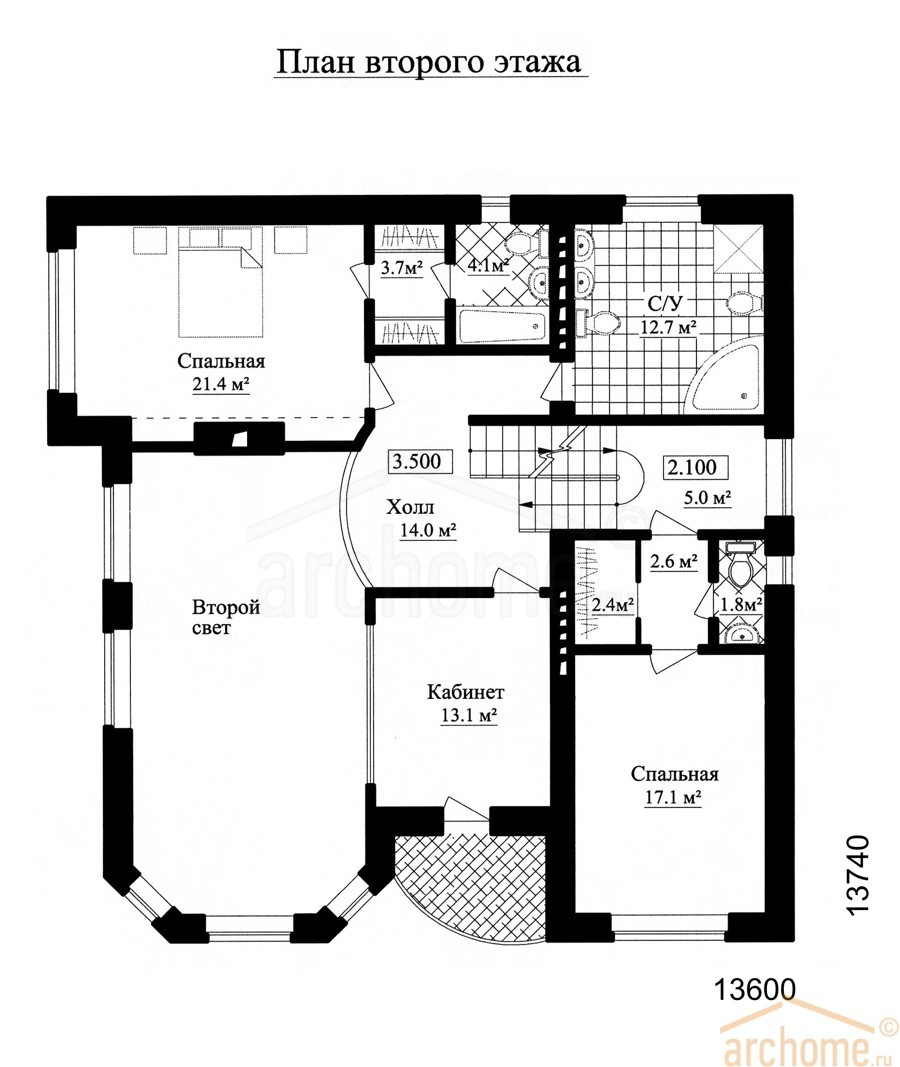 Планы этажей проекта АГАТ 2