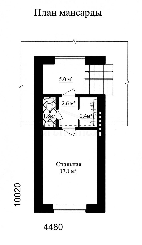 Планы этажей проекта АГАТ-1 4