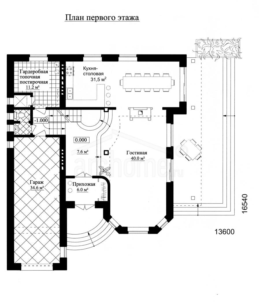 Планы этажей проекта АГАТ-1 1