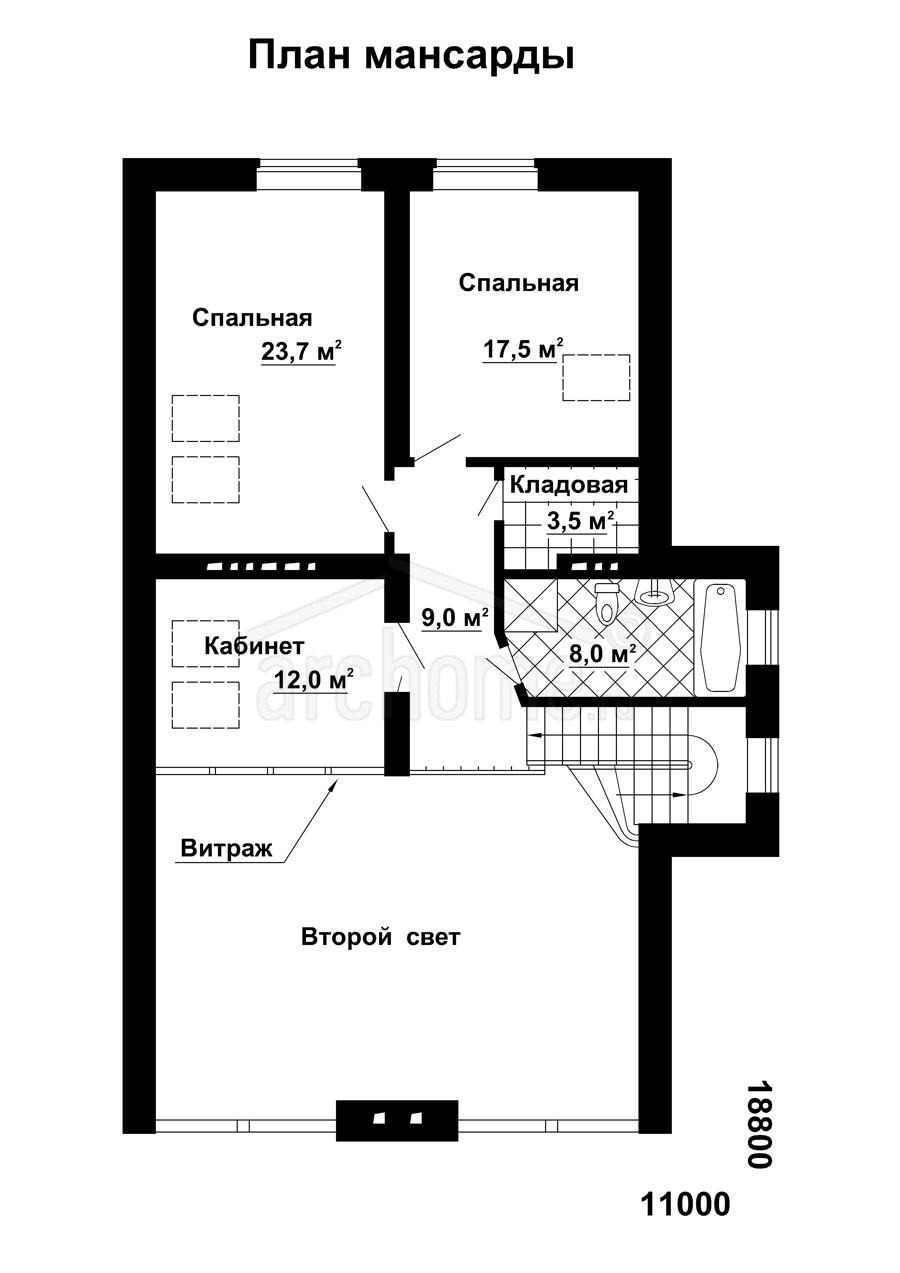 Планы этажей проекта КАСПЕР 2