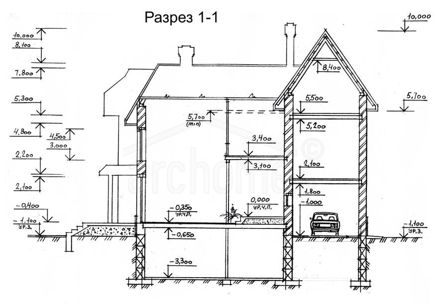 Планы этажей проекта АГАТ-1 5