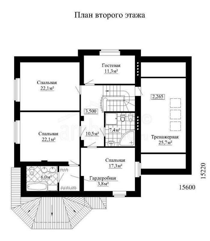 Планы этажей проекта КОНДОР-2 2