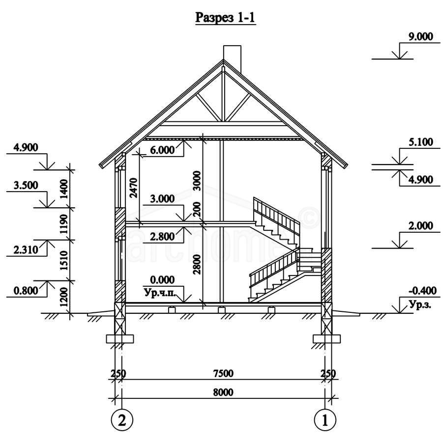 Планы этажей проекта ДОМИНО 3
