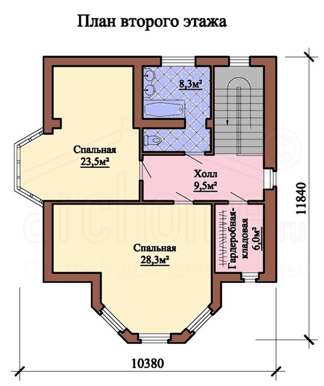 Планы этажей проекта ФЛАМИНГО 2