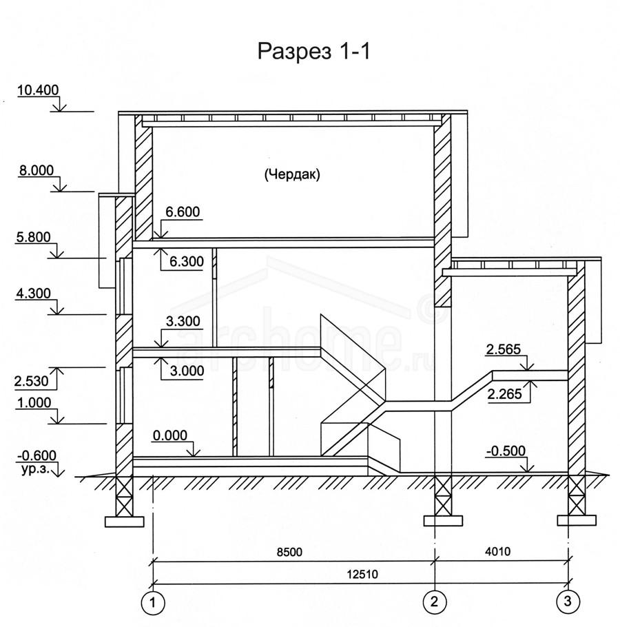 Планы этажей проекта ГУДВИН-2 3