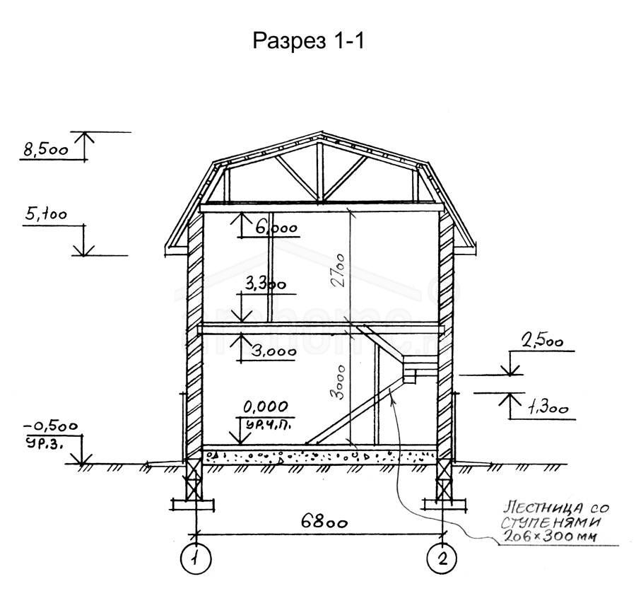 Планы этажей проекта АНЮТА 3