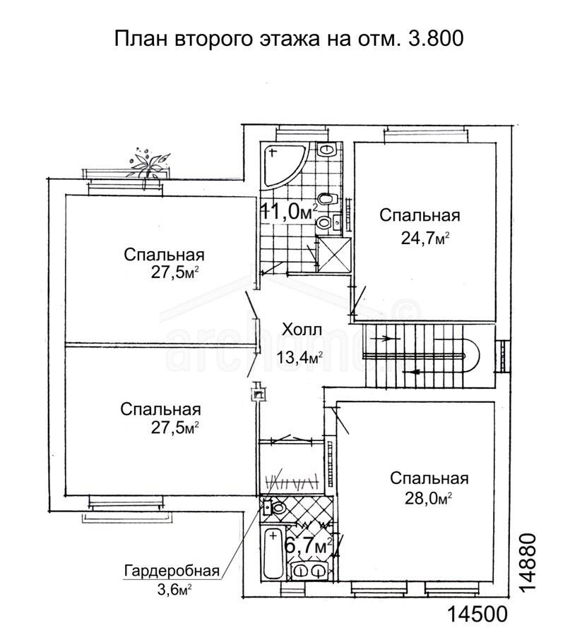 Планы этажей проекта ЛЕДА-1 3