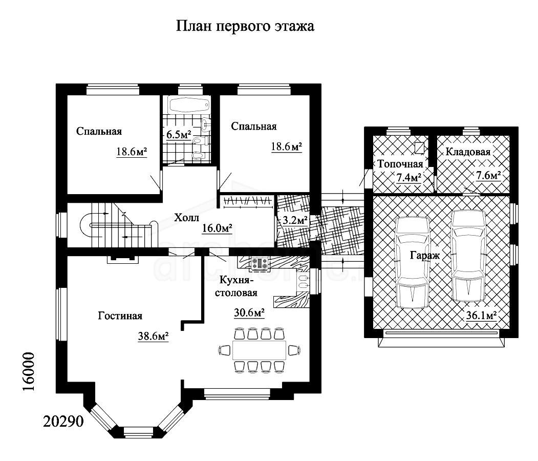 Планы этажей проекта КАПУЧИНО 1