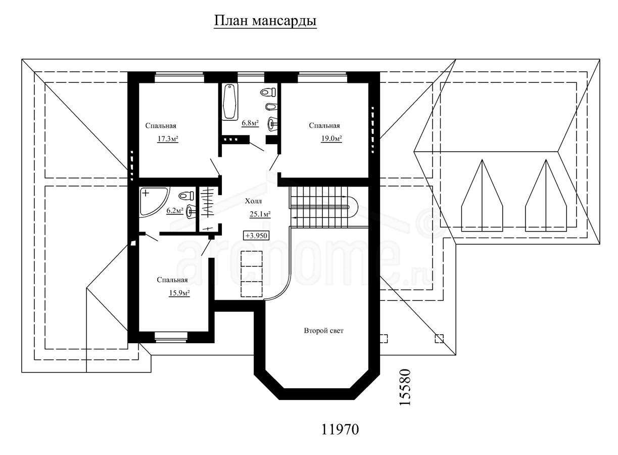 Планы этажей проекта ЛОТОС 2