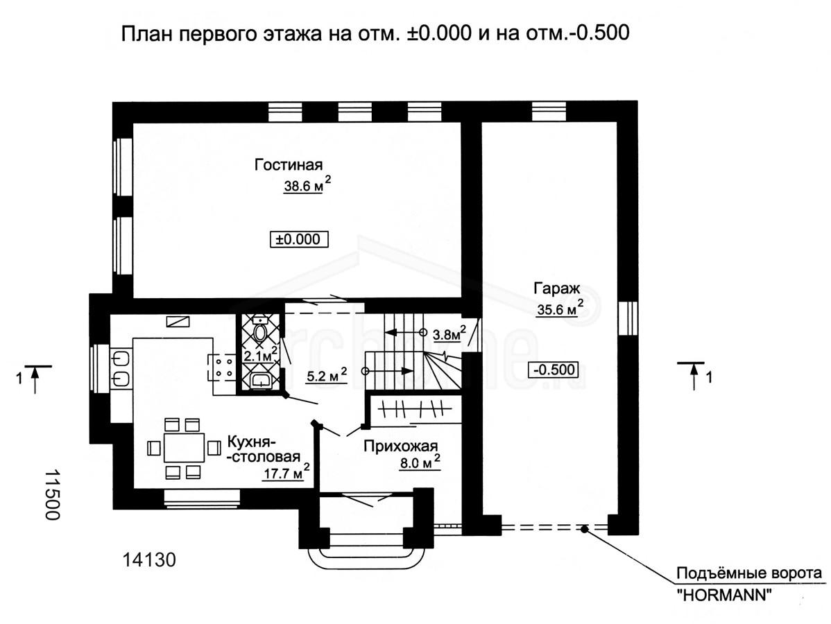 Планы этажей проекта ГУДВИН-2 1