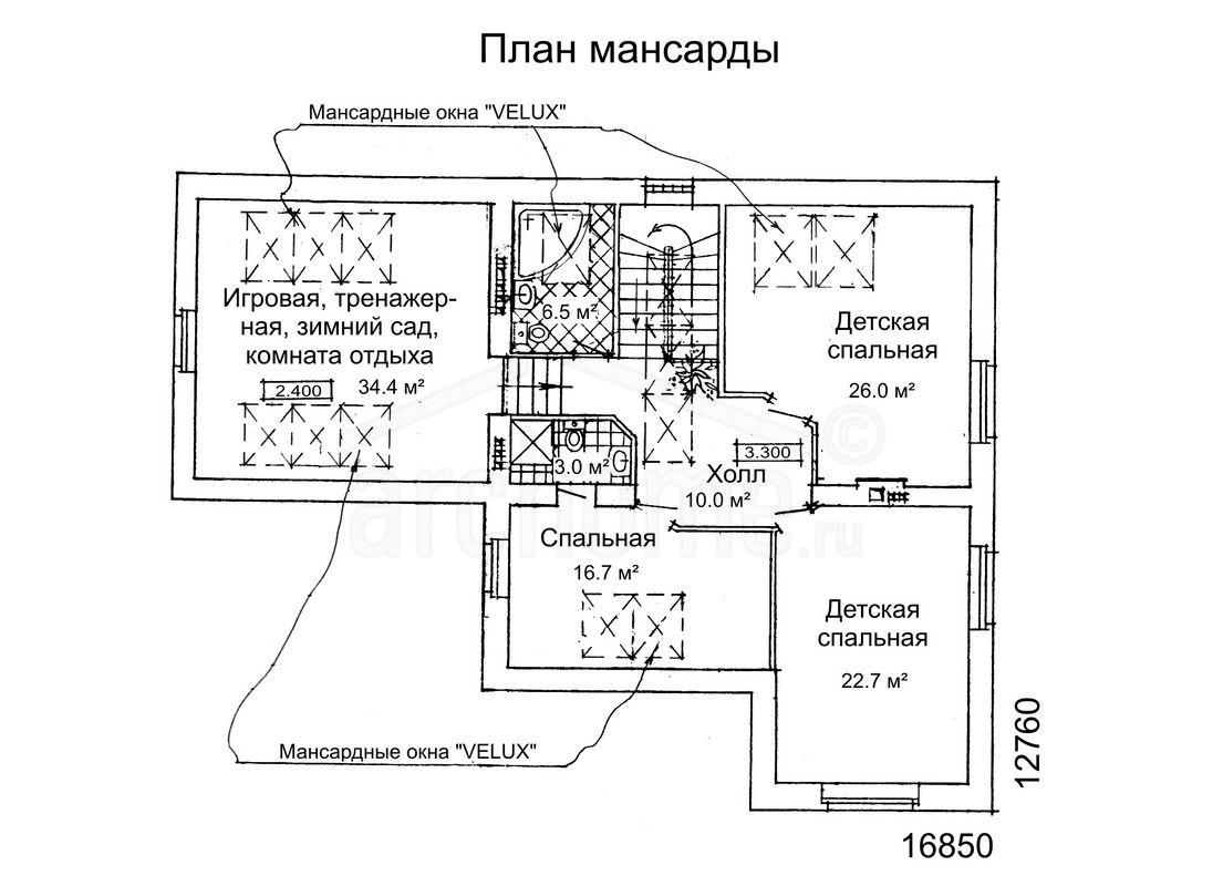 Планы этажей проекта РУБИН-1 2