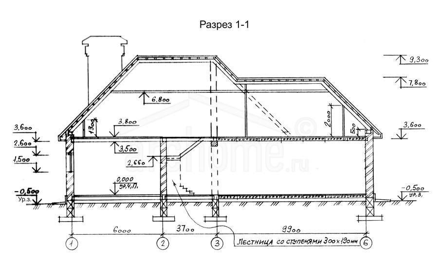 Планы этажей проекта АССОЛЬ 3