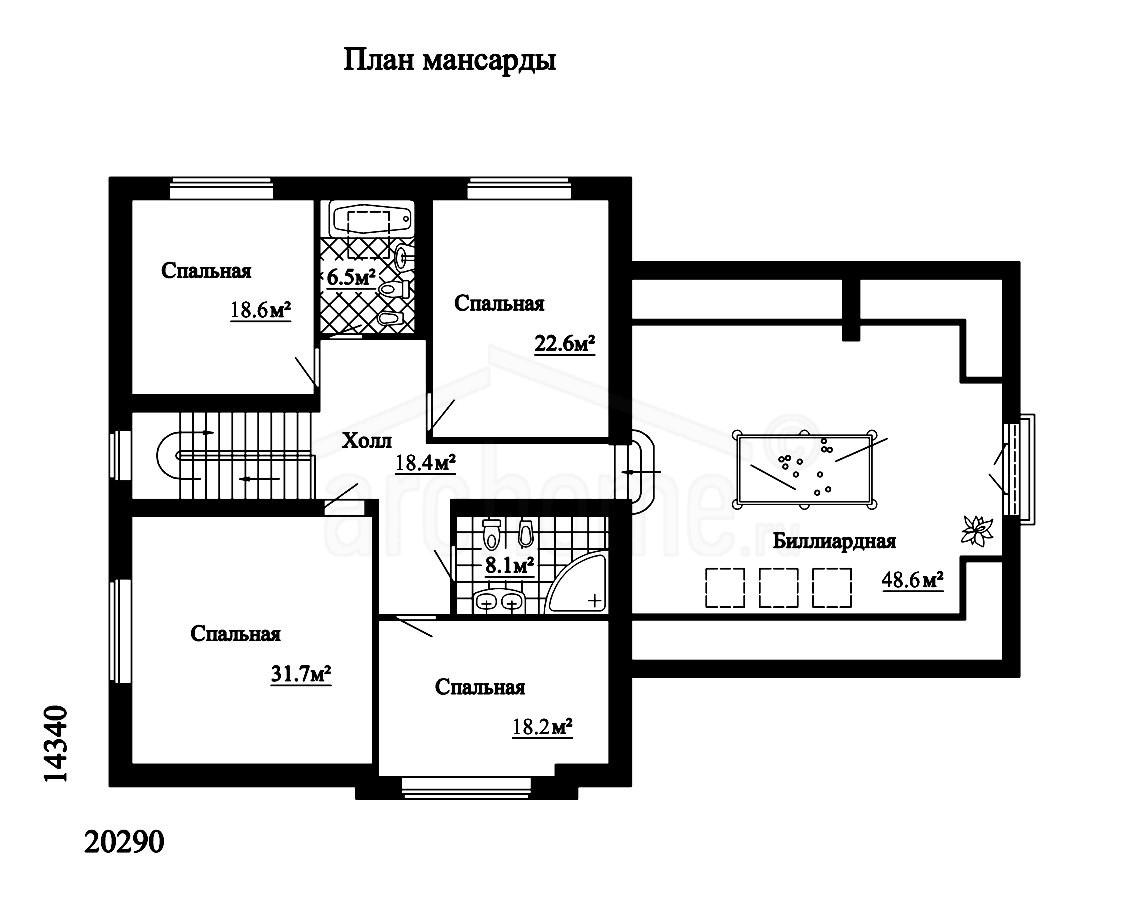 Планы этажей проекта КАПУЧИНО 2