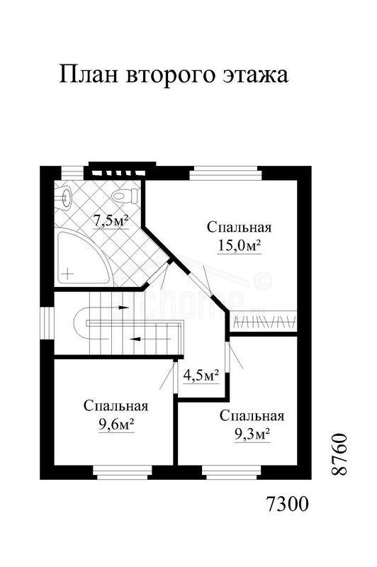 Планы этажей проекта ОХОТНИК-2 2