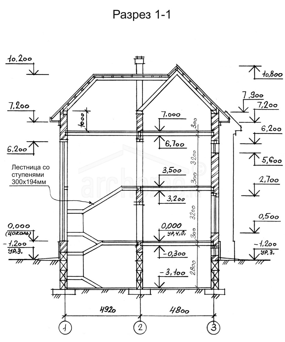 Планы этажей проекта ГЕНРИХ 4