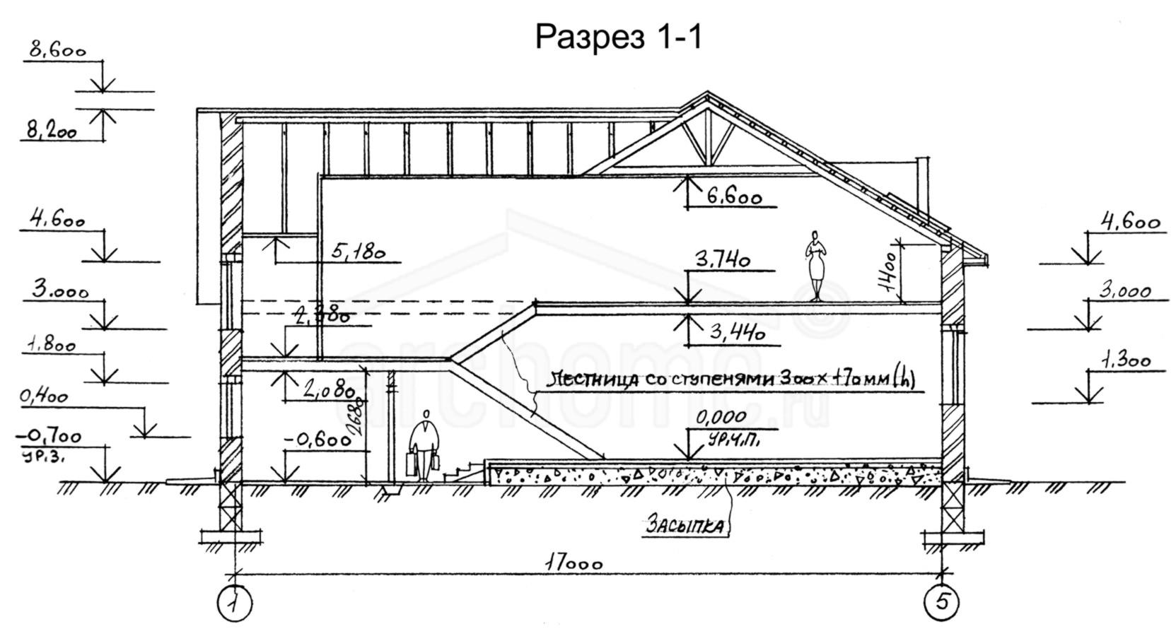 Планы этажей проекта ЛОТТА 3