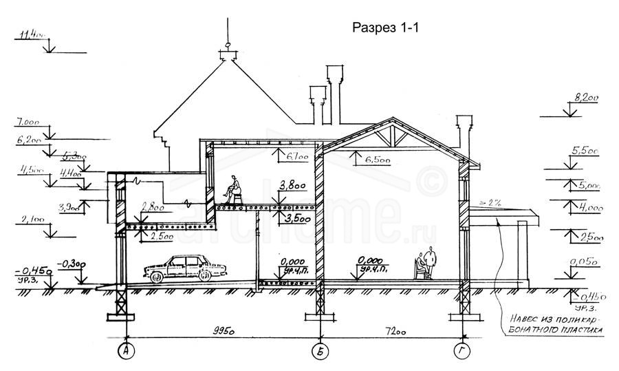 Планы этажей проекта ОРИОН 3
