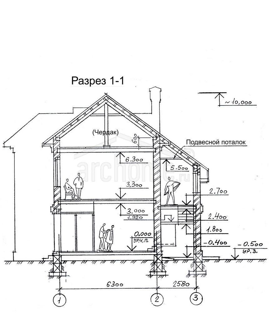 Планы этажей проекта ЛАНЧ-2 4
