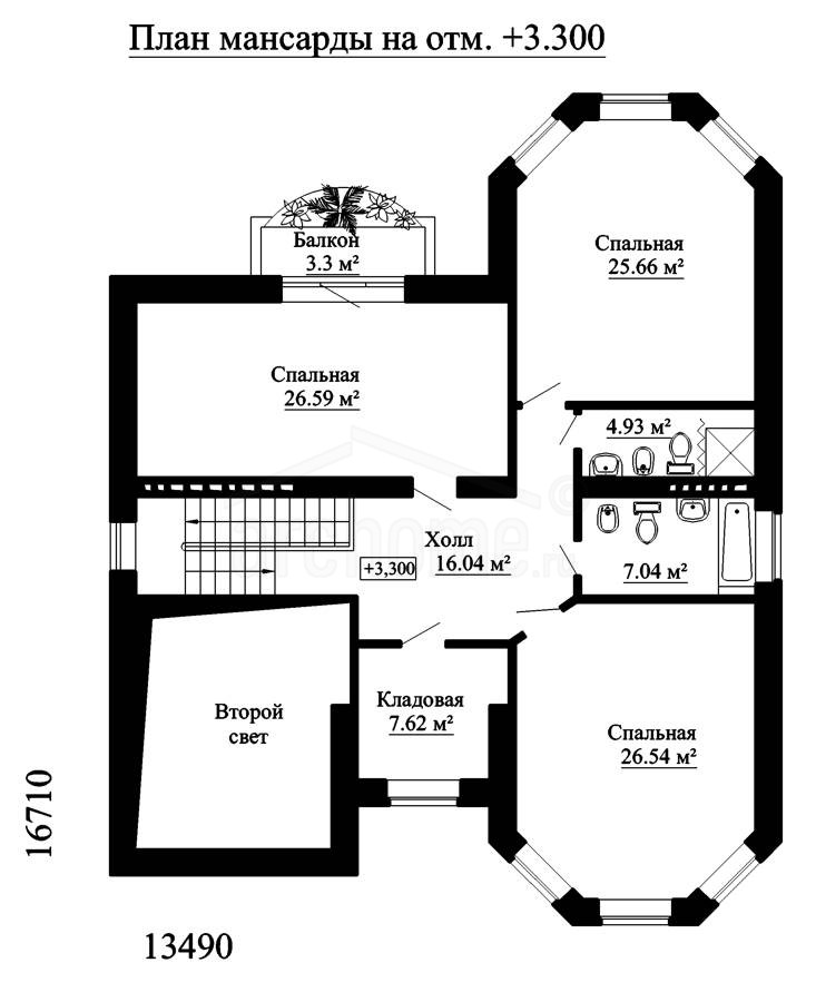 Планы этажей проекта ЭЛЬЗА-2 2