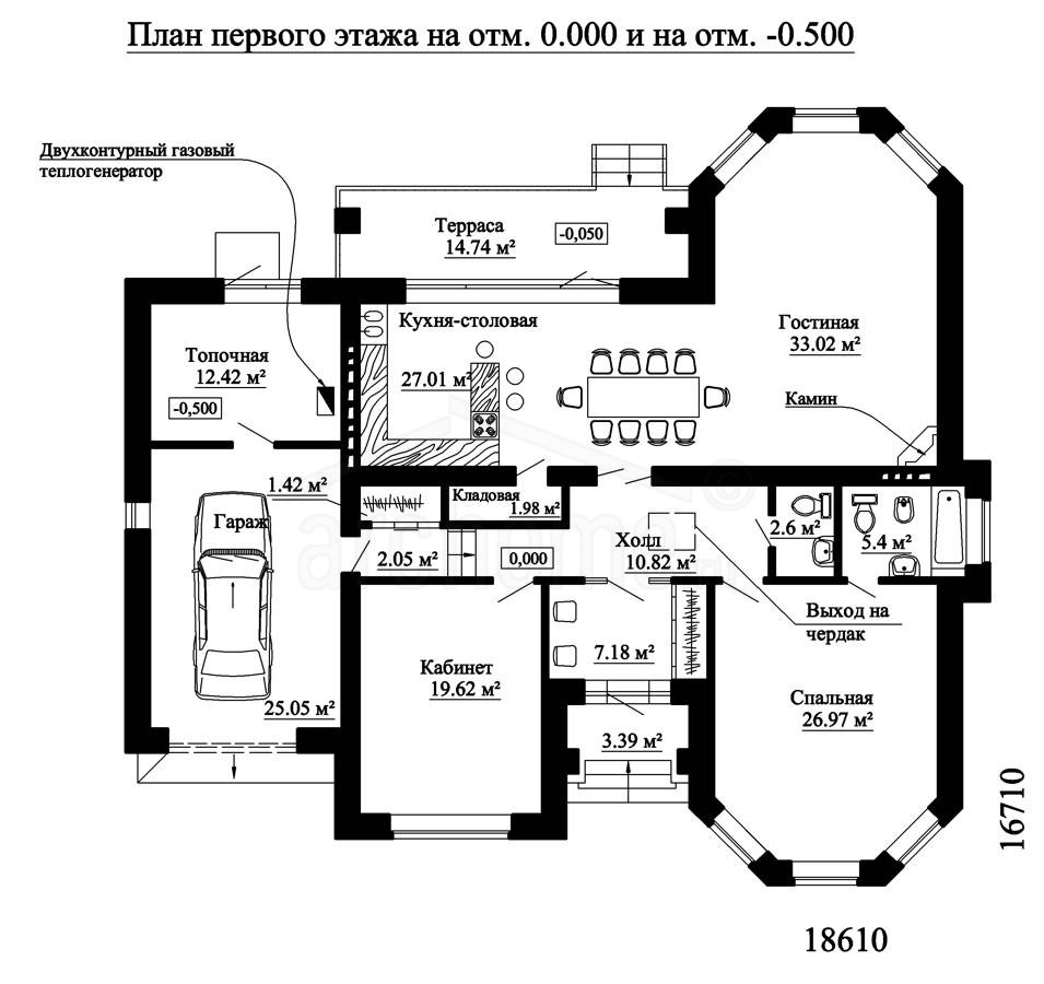 Планы этажей проекта ЭЛЬЗА-4 1