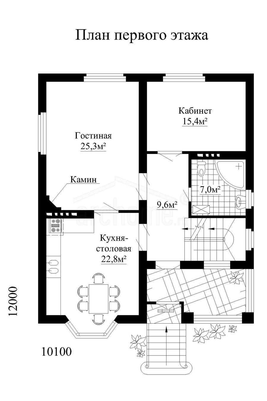 Планы этажей проекта КРОНА 2