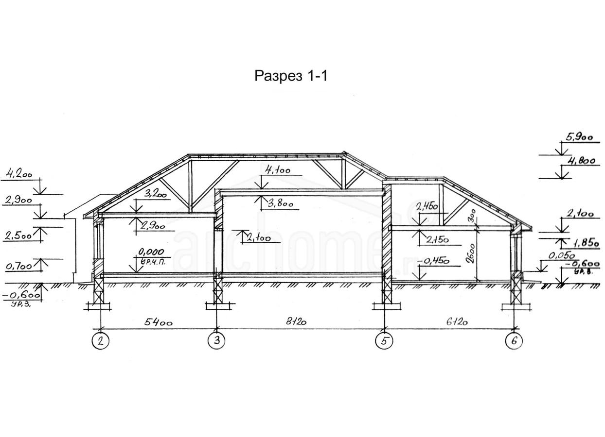 Планы этажей проекта ВИНСЕНТ 2