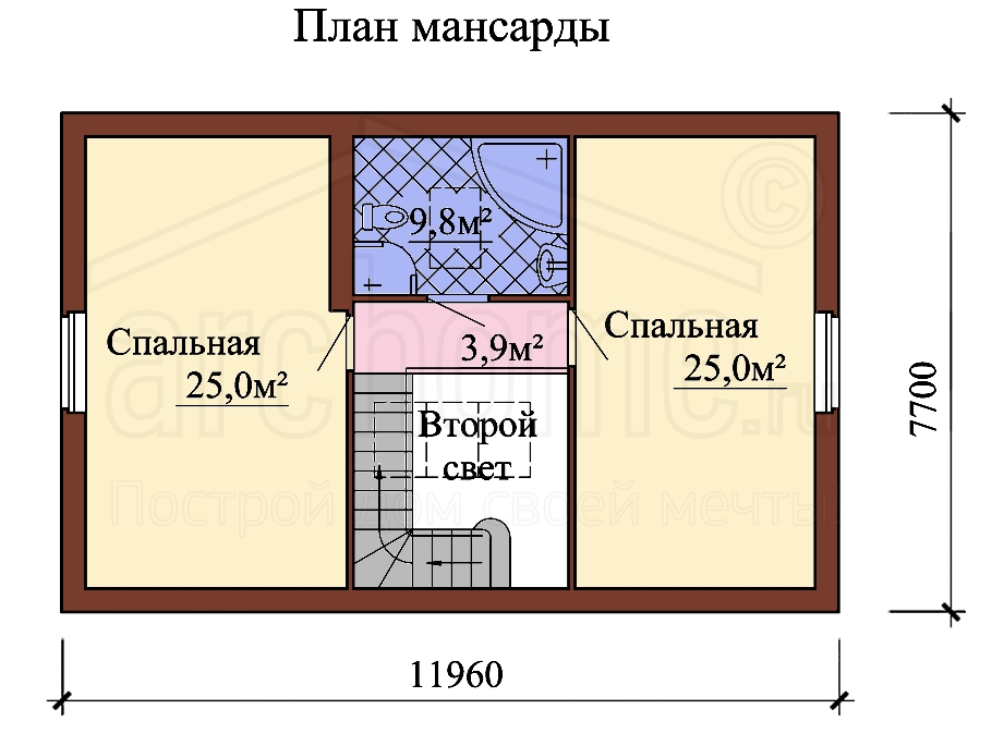 Планы этажей проекта БИСЕР-1 2