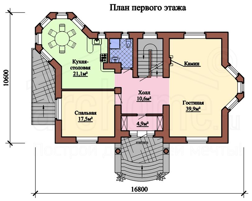 Планы этажей проекта БУТОН 1