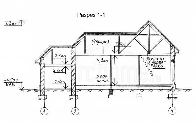 Планы этажей проекта ПИАФ 2