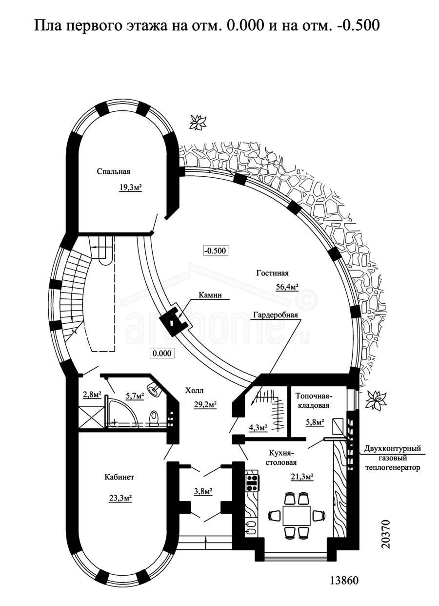 Планы этажей проекта ДЕМИС 1