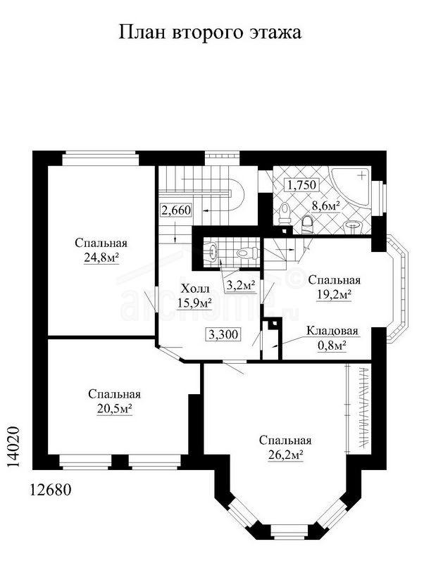Планы этажей проекта СУАРЕ 2