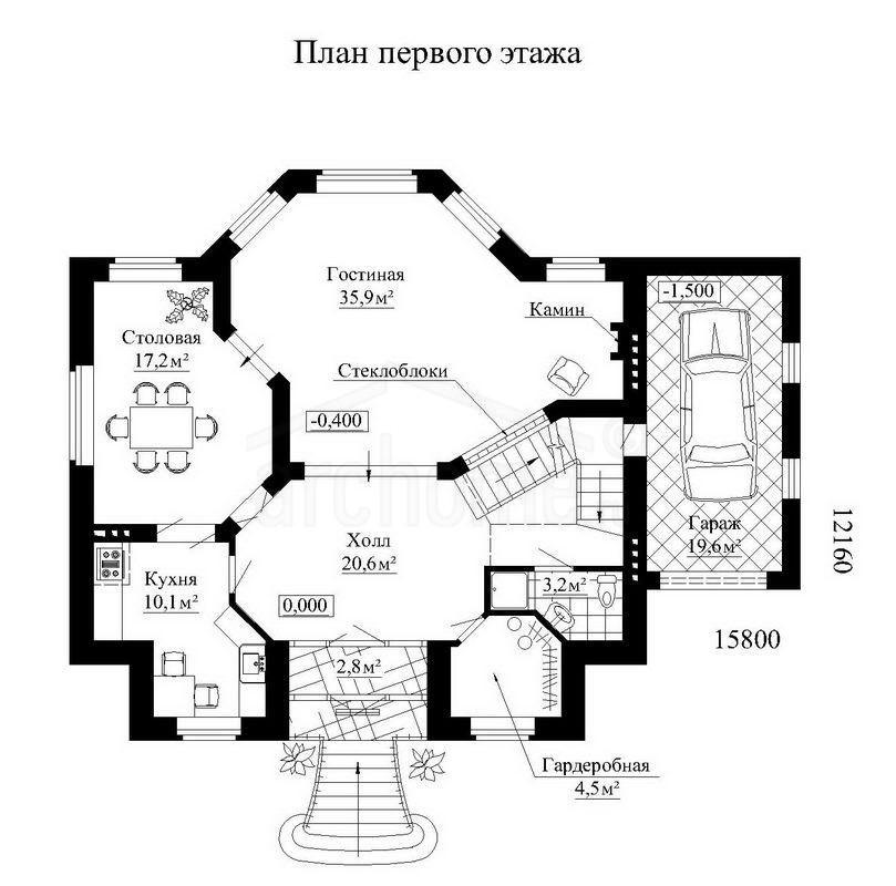 Планы этажей проекта ОБЛОМОВ 2