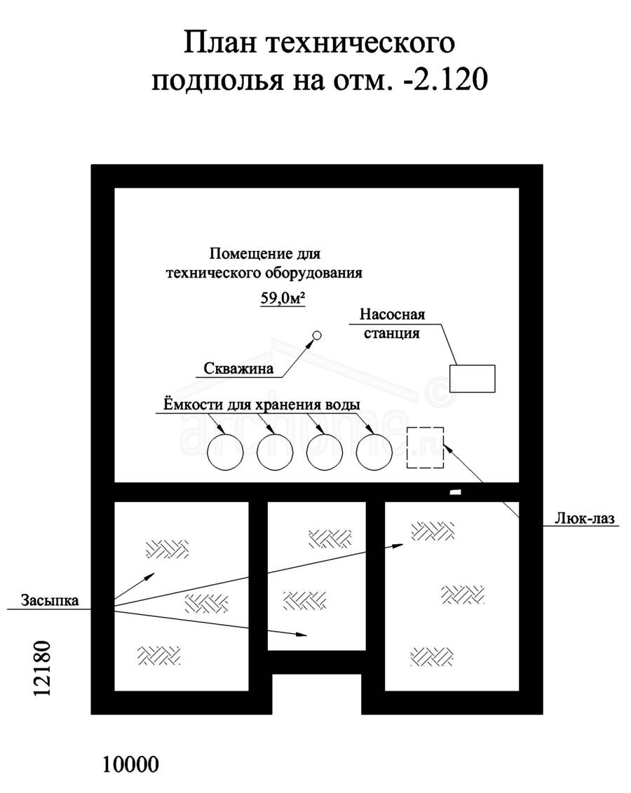 Планы этажей проекта ФИАЛКА-1 3
