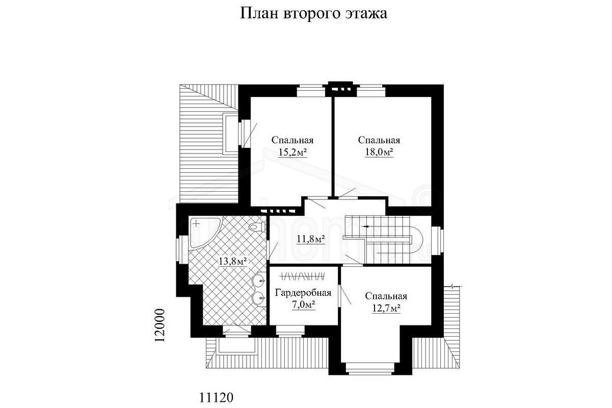 Планы этажей проекта ГУДВИН-1 2